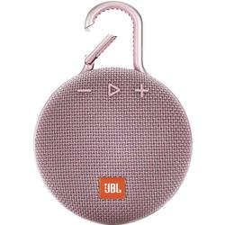 JBL Clip 3 Bluetooth® zvočnik Zunanji zvočnik, Uporaba na prostem, Zaščita pred pršečo vodo Roza