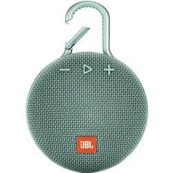 Bluetooth zvučnik JBL Clip 3 funkcija govora slobodnih ruku, vanjski, zaštićen protiv prskajuće vode tirkizna