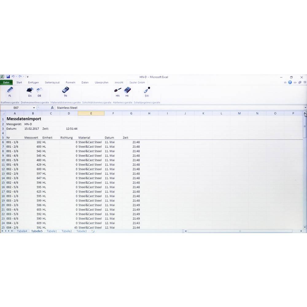 Sauter AFI-1.0 program za učenje Primerno za blagovno znamko (merilna oprema) Sauter SAUTER DA, SAUTER DB, SAUTER FL, SAUTER HK-