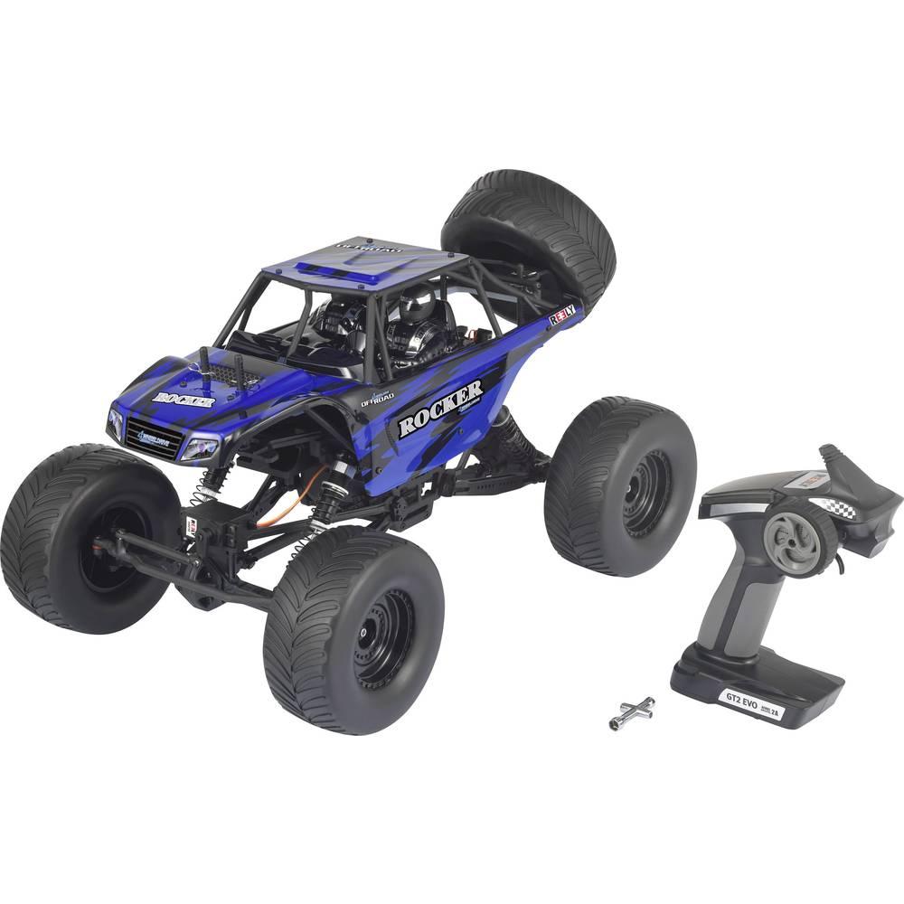 Reely Rocker s ščetkami 1:10 RC Modeli avtomobilov Elektro Crawler Pogon na vsa kolesa (4WD) RtR 2,4 GHz