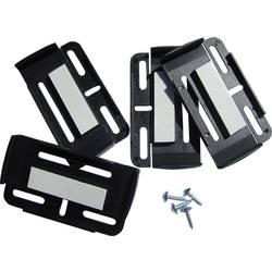 plastika nositelj registarske pločice crna HP Autozubehör Simple-Fix