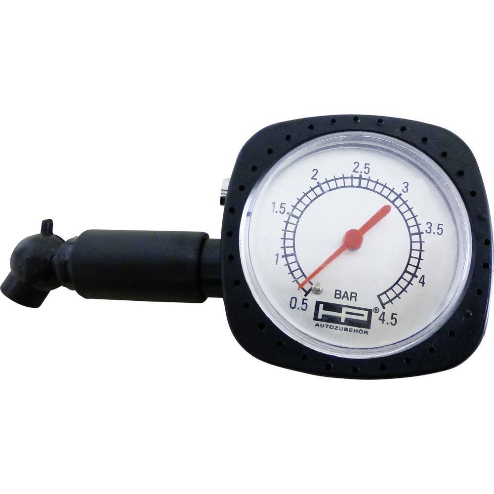 Mehanski tester zračnega tlaka v pnevmatikah, merilno območje zračnega tlaka 0.5 - 4.5 bar HP Autozubehör 21251
