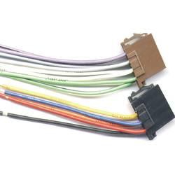 ISO adapterska vtičnica HP Autozubehör, primerno za: univerzalna, IS0 priključni kabli - komplet