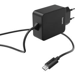 Vägguttag USB-laddare Hama Charger USB Type-C 1 xUSB-C hane 3000 mA Svart