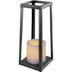 LED okrasna svetilka črne barve jantrna svetloba (Š x V) 100 mm x 240 mm Polarlite Iron 240
