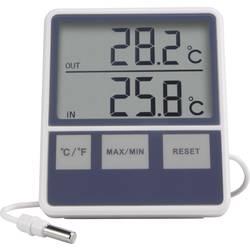 Basetech BTTH-1015 kabelski termometer bela