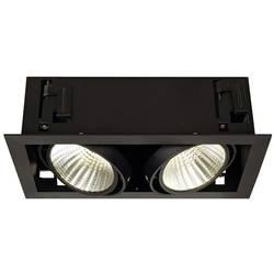 SLV 115740 LED vgradna svetilka 54 W Črna mat Črna mat