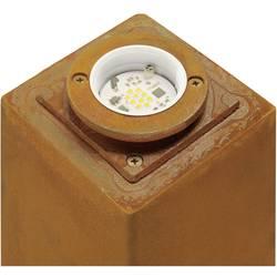 SLV zunanja stoječa svetilka Stojalo RUSTY, pešpoti 233427 Rja LED, fiksno vgrajena