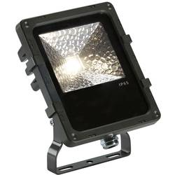 LED zunanji reflektor 12 W Črna SLV 1000803 Črna