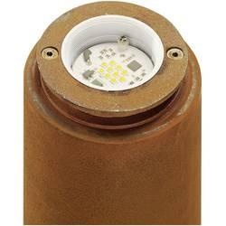 SLV zunanja stoječa svetilka Stojalo RUSTY, pešpoti 233407 Rja LED, fiksno vgrajena