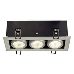 SLV 115726 LED vgradna svetilka 21 W Aluminij (krtačen) Aluminij (krtačen)