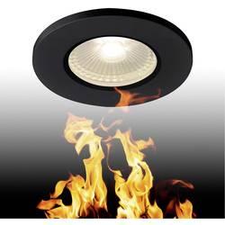 SLV 1001015 LED vgradna svetilka Črna Črna