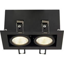 SLV 115710 LED vgradna svetilka 15 W Črna mat Črna mat