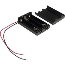 Držalo za baterije 3x Micro (AAA) kabel TRU COMPONENTS SBH431A