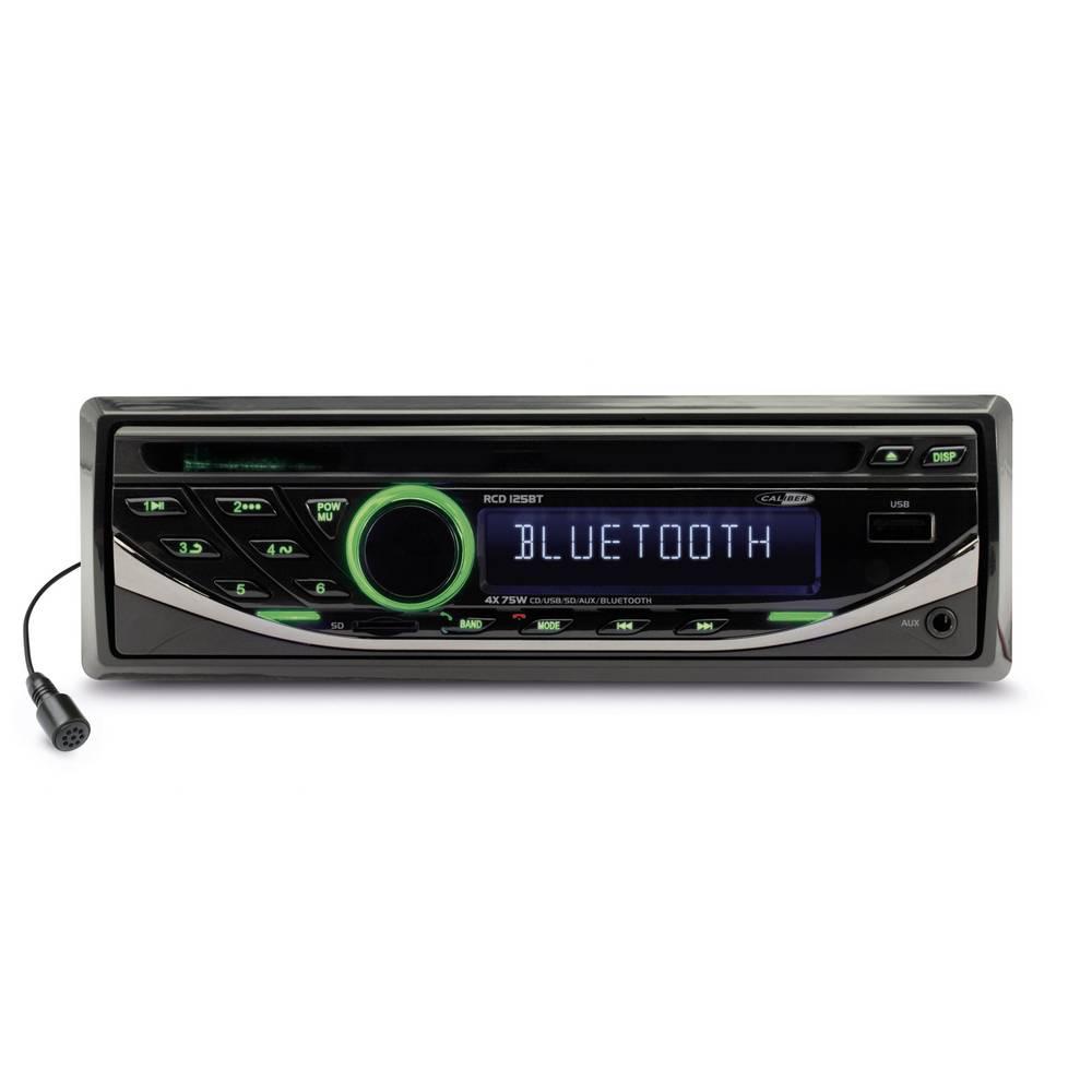Caliber Audio Technology RCD125BT avtoradio, vklj. daljinski upravljalnik, Bluetooth® prostoročno telefoniranje