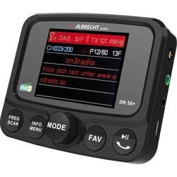 Albrecht DR56+ DAB+ sprejemnik nosilec z vakumskim priseskom, Bluetooth pretakanje glasbe