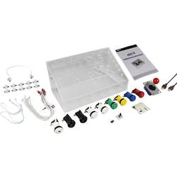 Raspberry Pi® Spelkonsol Joy-it RB-Gamestation-Kit 3 Akryl