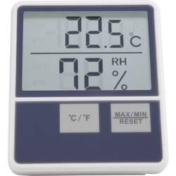 Velik mjerač unutarnje temperature/vlage u zraku Basetech BTTH-1014, bijela