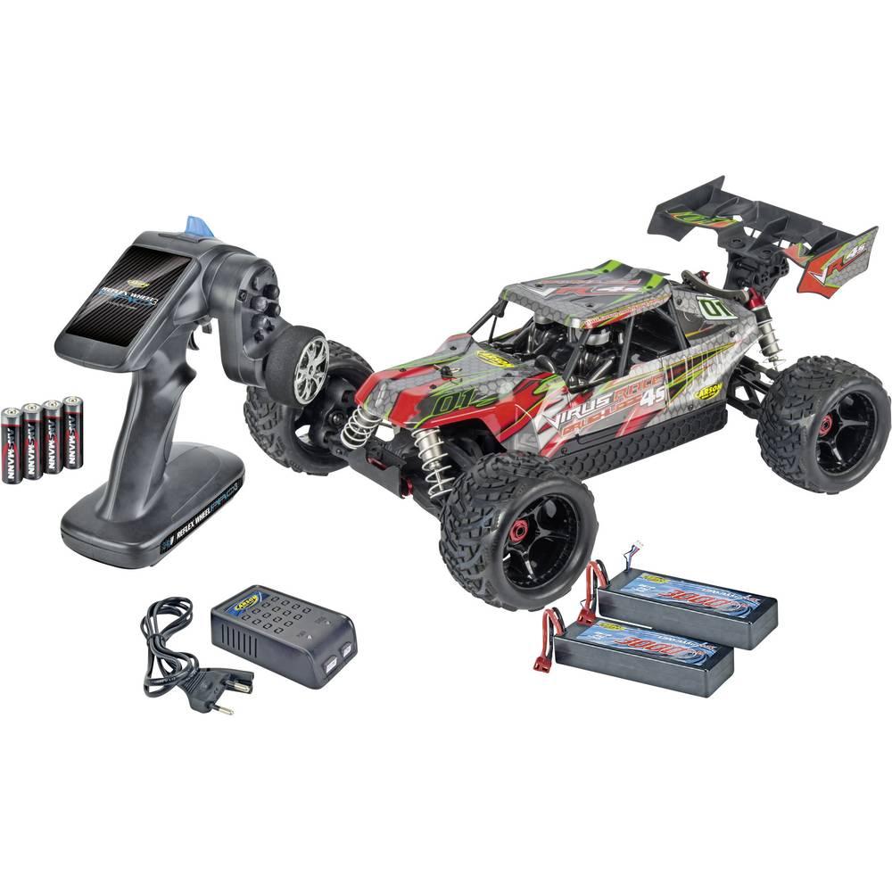 Carson Modellsport Virus Race 4.1 4S BL 1:8 RC Modeli avtomobilov Elektro Buggy Pogon na vsa kolesa (4WD) 100% RtR 2,4 GHz