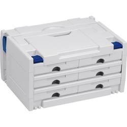 Tanos systainer III Variante 4 80000020 Škatla brez orodja ABS, Plastika (D x Š x V) 400 x 300 x 210 mm