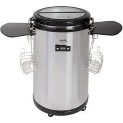 Minikylskåp Kompressor PartyCooler EZC47 Silver, Rostfritt stål 50 l EEK=A+ Ezetil