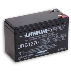Ultralife URB1270 specialni akumulatorji lifepo blok ploščati vtič lifepo 5 12.8 V 7500 mAh