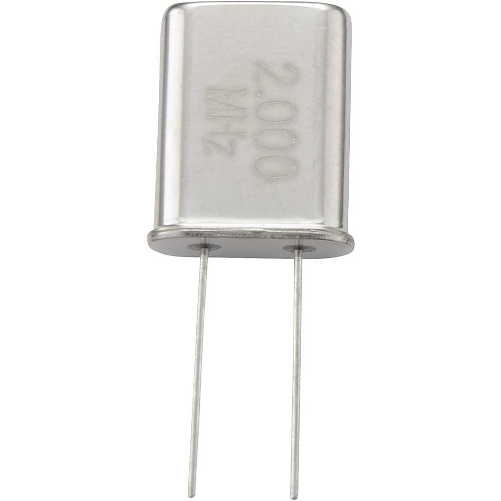 Kvarčni kristal TRU Components 182150 HC-49/U 10 MHz 32 pF (D x Š x V) 4.7 x 11.1 x 13.46 mm