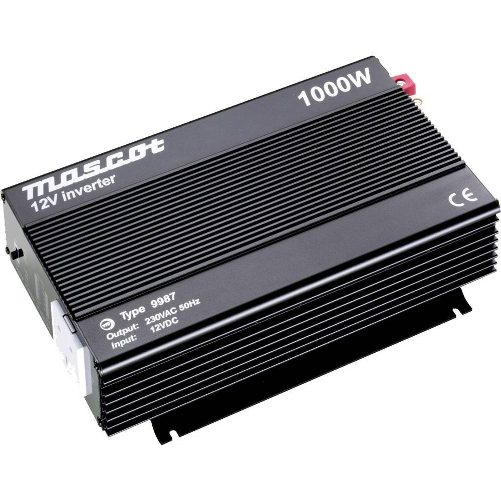 Inverter Mascot 9987 1000 W 12 V/DC Skrueklemmer