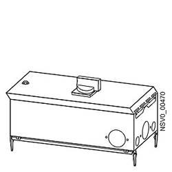Tirni sistem-izhodna škatla Svetlo siva 40 A 400 V Siemens BVP:610397
