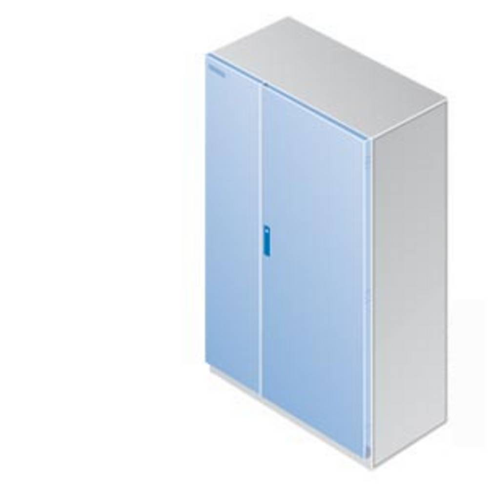 Dvokrilna vrata (Š x V) 900 mm x 1800 mm Jeklo Prodno siva Siemens 8MF3128 1 KOS