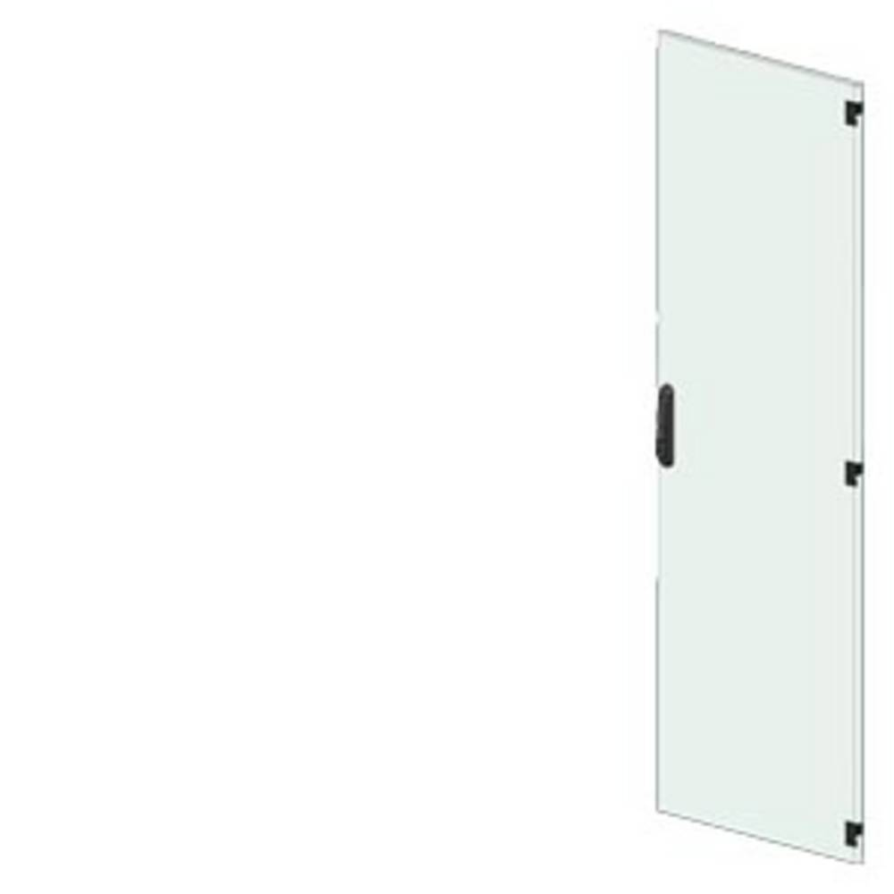 vrata (Š x V) 450 mm x 2200 mm jeklo svetlo siva Siemens 8MF1270-2UT15-0CA1 1 KOS