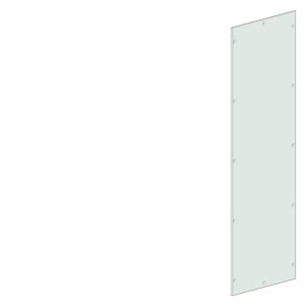 stranska stena/zadnja stena (D x Š x V) 1000 x 1000 x 2000 mm jeklo svetlo siva Siemens 8MF1000-2UW62-1B 1 KOS