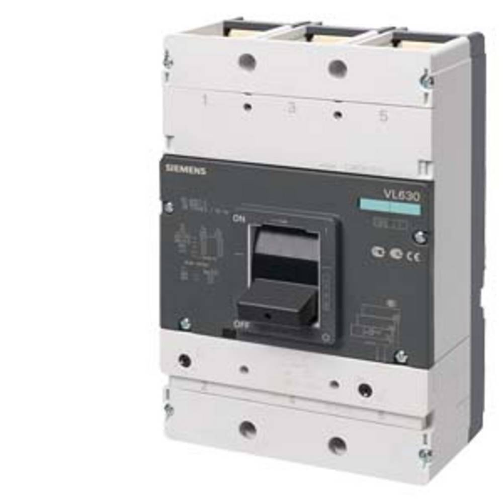 močnostno stikalo 1 KOS Siemens 3VL5750-3DC36-2UA0 Nastavitveno območje (tok): 400 - 500 A Preklopna napetost (maks.): 690 V/AC
