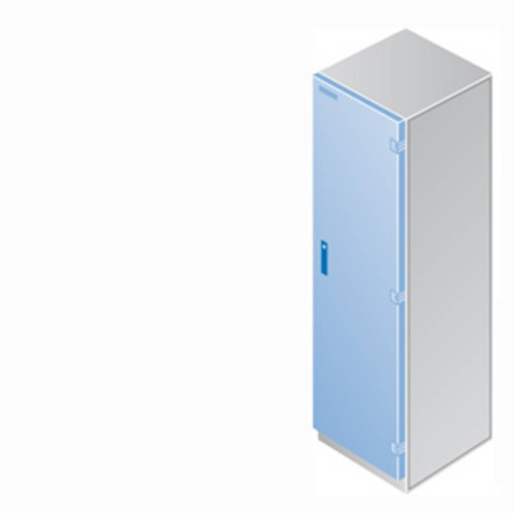 vrata (Š x V) 800 mm x 2000 mm jeklo prodno siva Siemens 8MF3227 1 kos