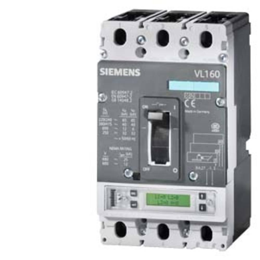 močnostno stikalo 1 KOS Siemens 3VL1110-1KM30-0AA0 Nastavitveno območje (tok): 100 A (max) Preklopna napetost (maks.): 690 V/AC