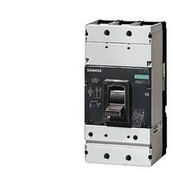 Močnostno stikalo 1 KOS Siemens 3VL4850-1KN30-0AA0 Nastavitveno območje (tok): 500 A (max) Preklopna napetost (maks.): 690 V/AC