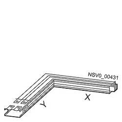 Tirni sistem-kot levo Aluminij Svetlo siva 1000 A 690 V Siemens BVP:261828