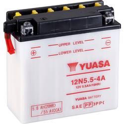 Motorcykelbatteri Yuasa 12N5.5-4A 12 V 5.5 Ah Motorräder, Motorroller, Quads, Jetski, Schneemobile, Aufsitz-Rasenmäher