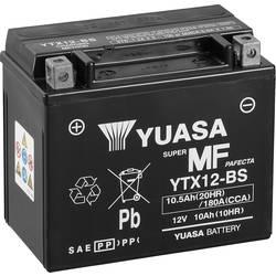 Motorcykelbatteri Yuasa YTX12-BS 12 V 10 Ah Motorräder, Quads, Jetski, Schneemobile