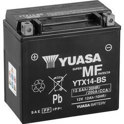 Motorcykelbatteri Yuasa YTX14-BS 12 V 12 Ah Motorräder, Quads, Jetski, Schneemobile