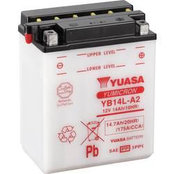Motorcykelbatteri Yuasa YB14L-A2 12 V 14 Ah Motorräder, Motorroller, Quads, Jetski, Schneemobile, Aufsitz-Rasenmäher