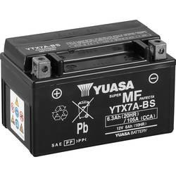 Motorcykelbatteri Yuasa YTX7A-BS 12 V 6 Ah Motorräder, Quads, Jetski, Schneemobile