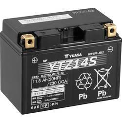 Motorcykelbatteri Yuasa YTZ14S 12 V 11.2 Ah Motorräder, Quads, Jetski, Schneemobile