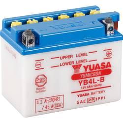 Motorcykelbatteri Yuasa YB4LB CP 12 V 4 Ah Motorräder, Motorroller, Quads, Jetski, Schneemobile, Aufsitz-Rasenmäher
