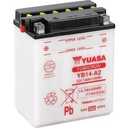 Motorcykelbatteri Yuasa YB14-A2 12 V 14 Ah Motorräder, Motorroller, Quads, Jetski, Schneemobile, Aufsitz-Rasenmäher
