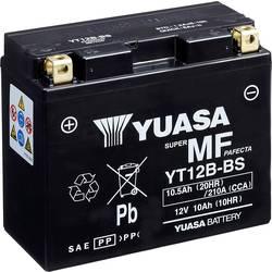 Motorcykelbatteri Yuasa YT12B-BS 12 V 10 Ah Motorräder, Quads, Jetski, Schneemobile
