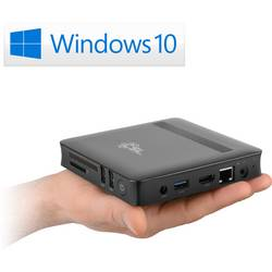 HTPC CSL Computer CSL Narrow Box Ultra HD Compact Intel® Pentium® N4200 32 GB Windows 10 Home
