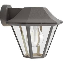 Philips Curassow 1738643PN zunanja stenska svetilka led E27 42 W rjava
