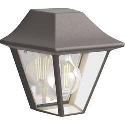 Philips Curassow 1738543PN zunanja stenska svetilka led E27 42 W rjava