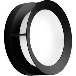 Philips Actea LED zunanja stenska svetilka 12 W topla bela črna